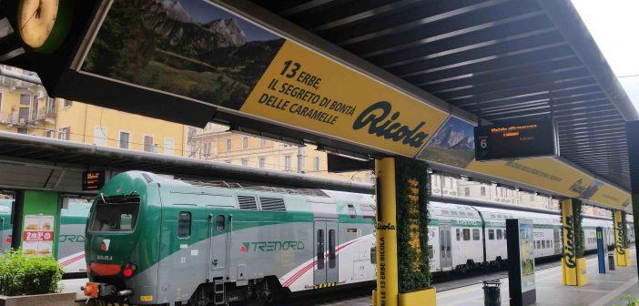Milano, Ricola trasforma la stazione Cadorna coi suoi giardini verticali