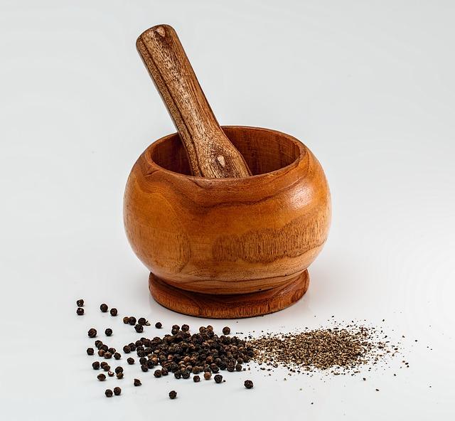 Piperina (pepe nero), proprietà e controindicazioni Dieta